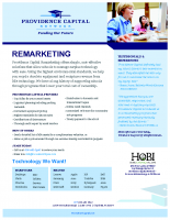 Providence Capital Remarketing Brochure